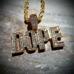 Iced Out Dope Necklace